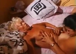 Two females have a sensual lesbian incest