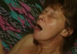 Slutty mature fucks with a perverted grandson