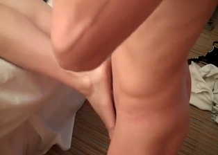 Stepmother gives me an awesome footjob