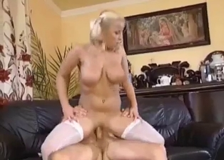 Dirty incest action with a busty sexy stepdaughter